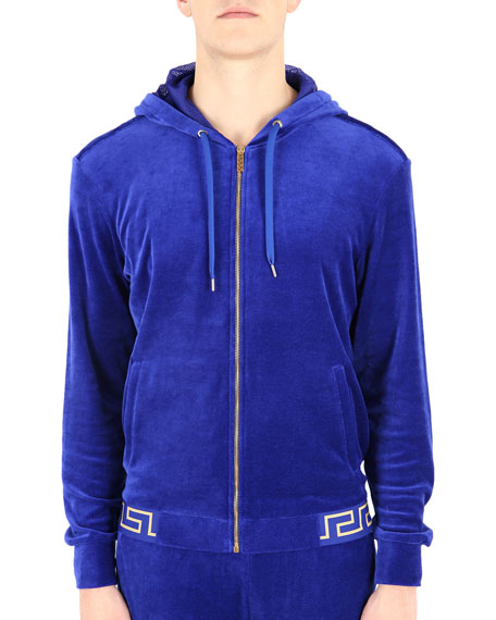 Men's Greek Key Gym Jacket