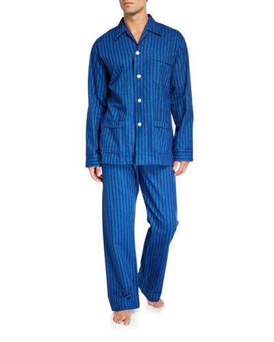 Men's Arctic 19 Striped Classic Pajamas