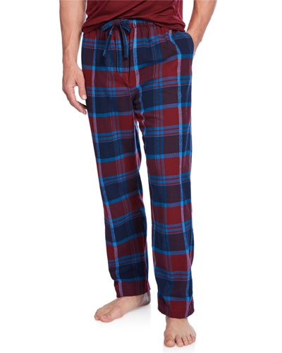 Men's Kelburn 7 Plaid Lounge Pants