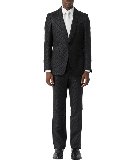 Men's TB Logo Two-Piece Suit