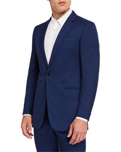 Men's Damien Single-Button Wool Jacket