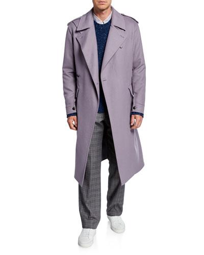 Men's Ginsberg Double-Face Cashmere Coat