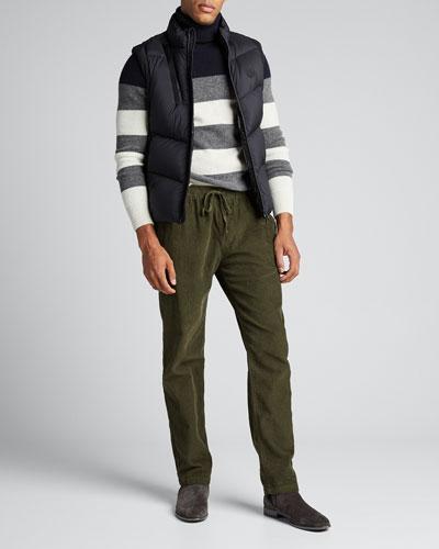 Men's Jacot Zip-Front Puffer Vest