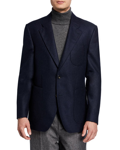 Men's Havre Half-Lined Two-Button Jacket