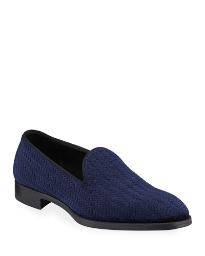 Men's Perforated Mesh Espadrilles