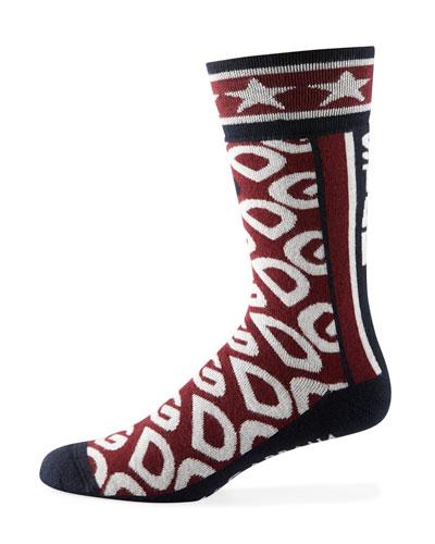 Men's DG Logo Mania Socks