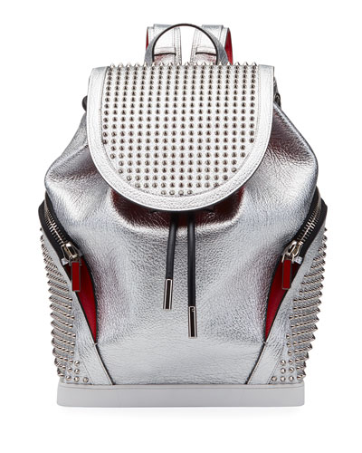 Men's Explorafunk Space Studded Leather Backpack