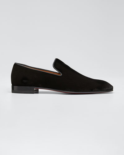 Men's Dandelion Velvet Loafers