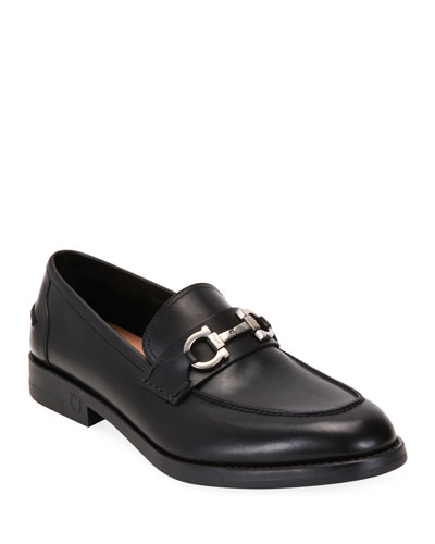 Men's Arlin Leather Slip-On Bit Loafers