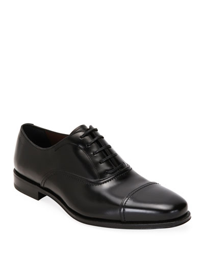 Men's Seul Leather Oxford Shoes