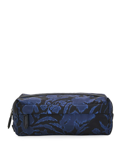 Men's Floral-Print Toiletry Bag