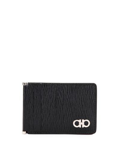 Men's Leather Card Case w/ Brass Hardware