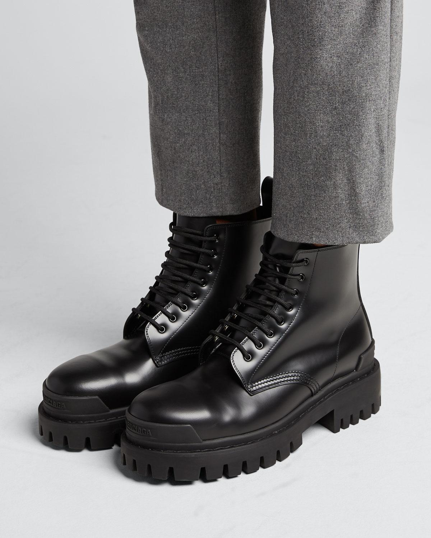 balenciaga combat boots womens Shop