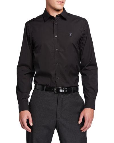 Men's Louis Classic Sport Shirt  Black