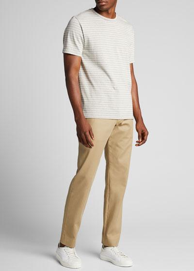 Men's Striped Crewneck T-Shirt