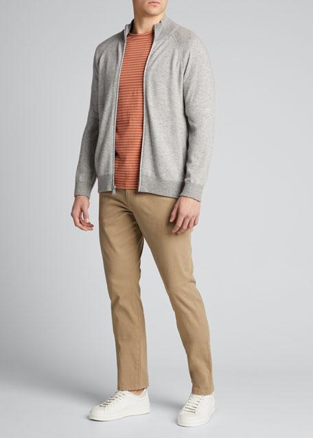Men's Wool-Cashmere Birdseye Jacket