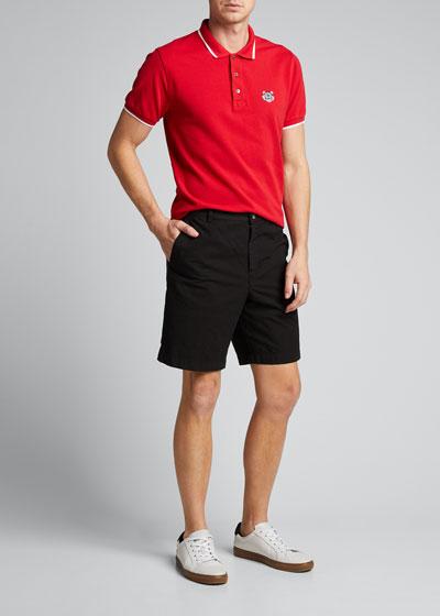 Men's Medium-Length Twill Shorts