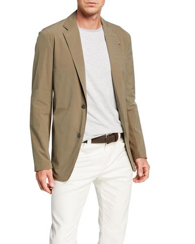 Men's Springdale Stretch-Nylon Sport Jacket