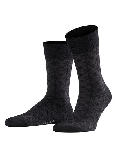 Men's Sensitive Supernova Tonal Wool-Blend Socks