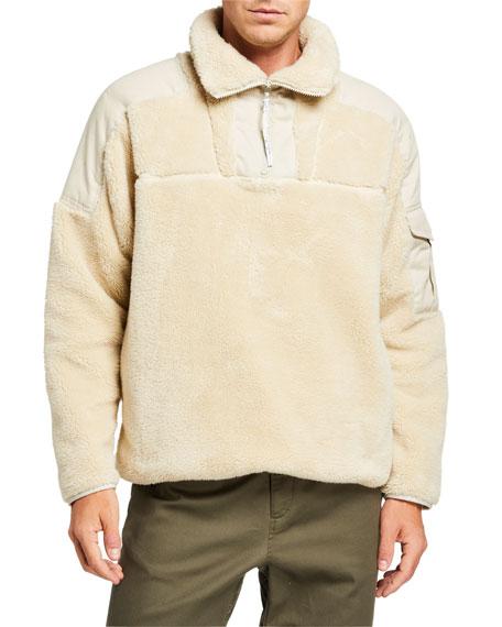 Men's Logan Sherpa Pullover Sweater