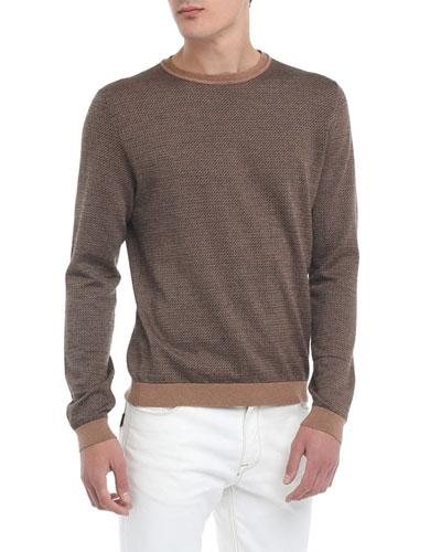 Men's Micro-FF Fleece Wool Sweater