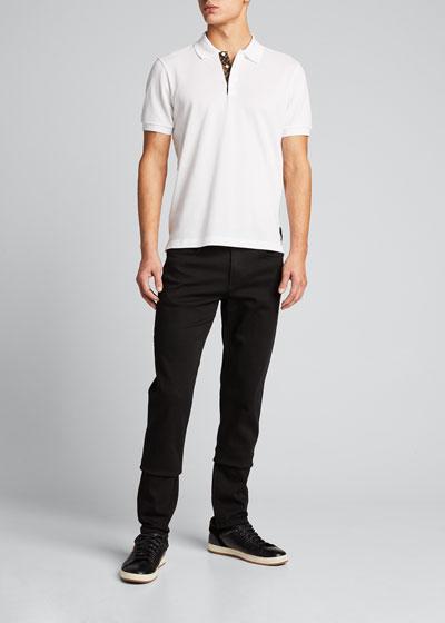 Men's FF-Placket Polo Shirt