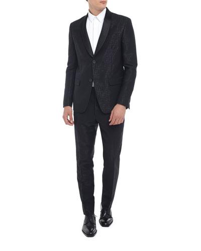 Men's Allover FF Two-Piece Tuxedo