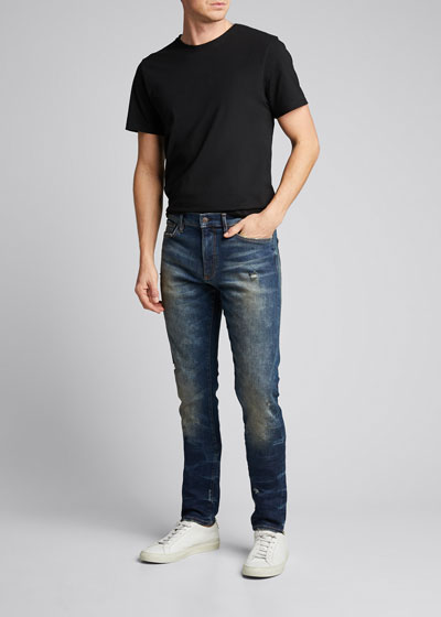 Men's Distressed Skinny Max Jeans