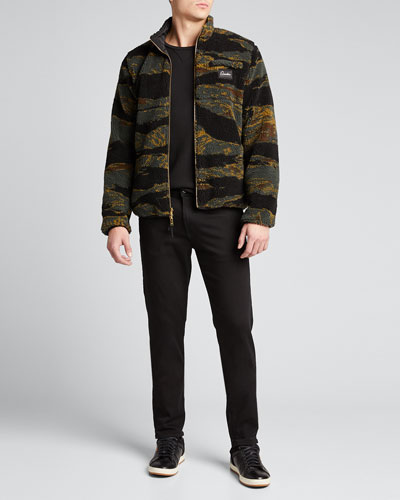 Men's Marsh Sherpa Zip-Front Jacket