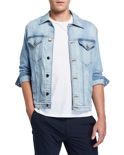 Men's L'Homme Soft Denim Jean Jacket