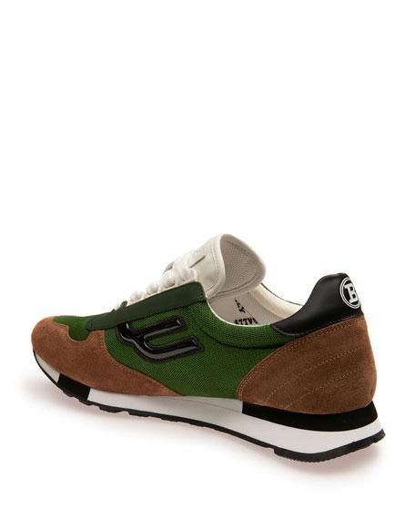 Men's Gavino Leather Runner Sneaker