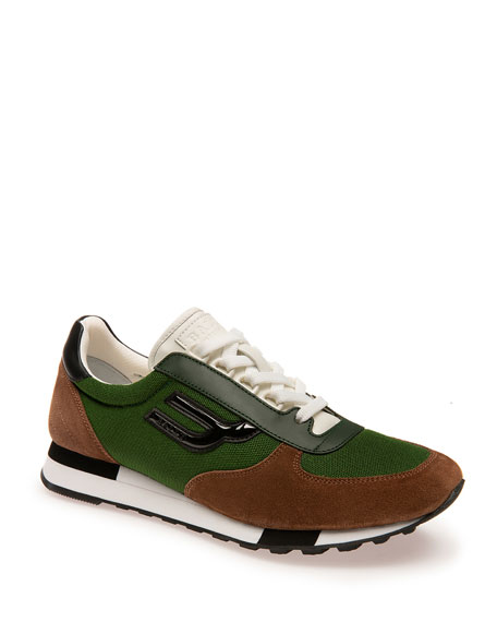 Image 1 of 1: Men's Gavino Leather Runner Sneaker