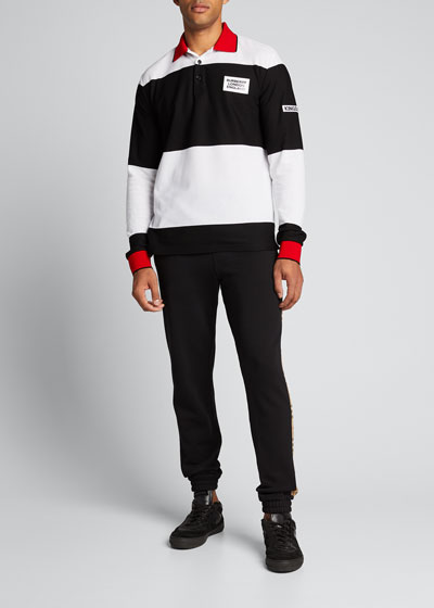 Men's Copland Long-Sleeve Polo Shirt