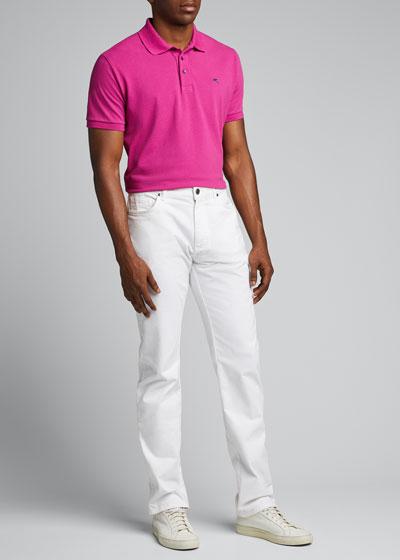 Men's Classic Knit Polo Shirt