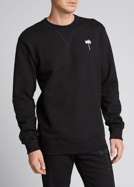 Men's Classic Crewneck Logo Sweatshirt
