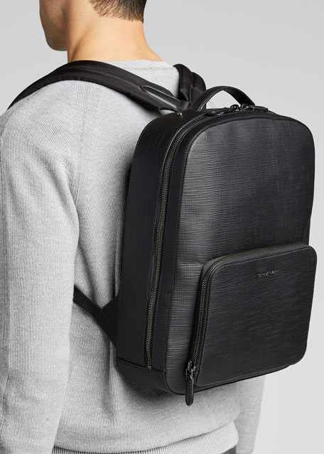 Men's Stuoia Leather Backpack