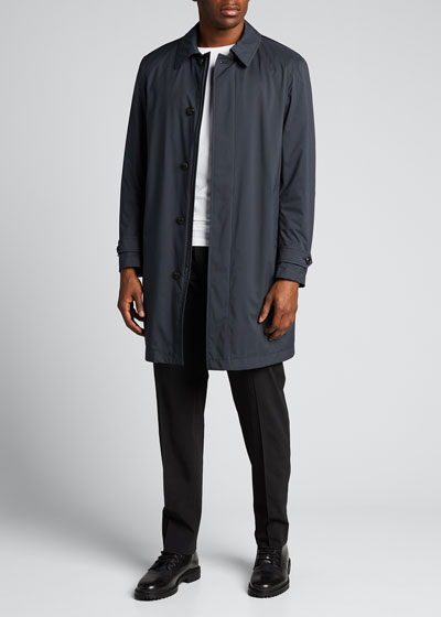 Men's Kergolo Simple Raincoat