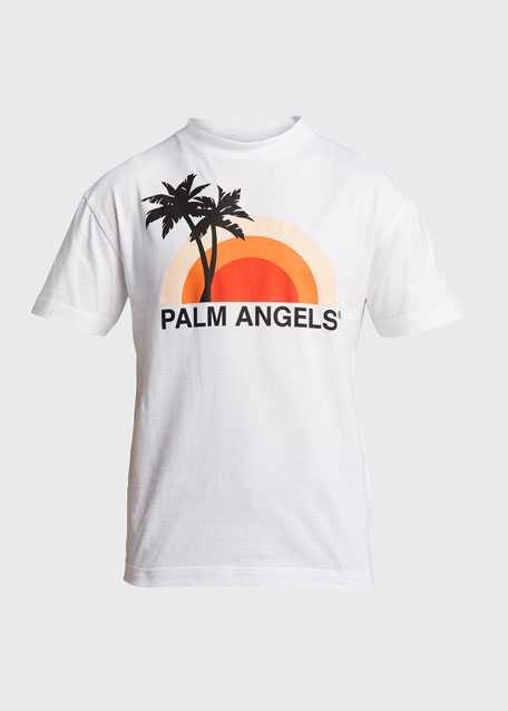 Men's Sunset Graphic T-Shirt