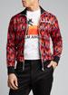 Men's Burning Zip-Front Track Jacket