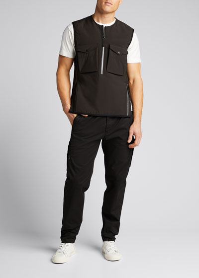 Men's Pullover Quarter-Zip Vest