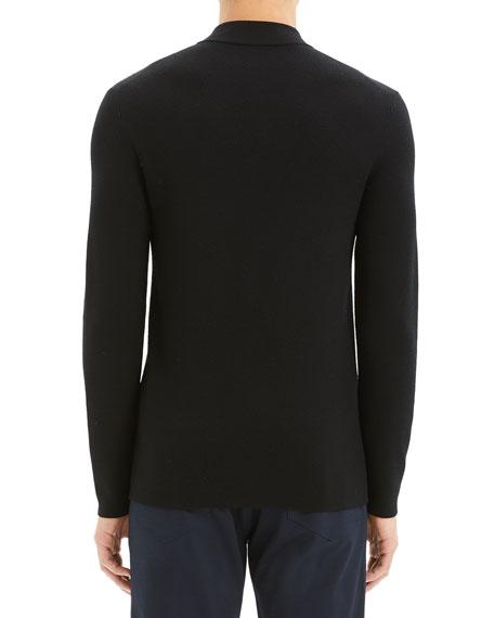 Men's Detroe Milos Quarter-Zip Wool Sweater
