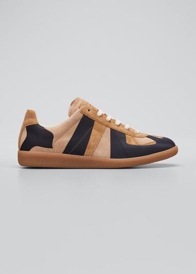 Men's Replica Laser Suede Sneakers
