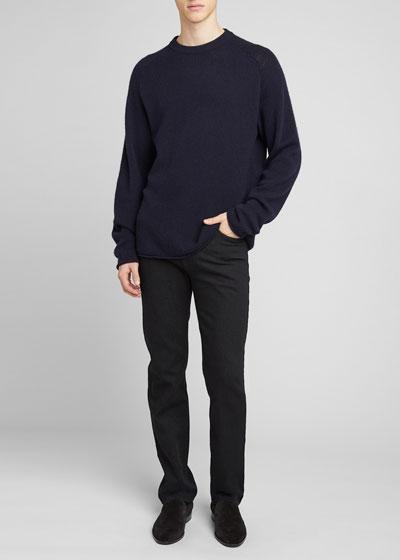 Men's Ulmer Cashmere Raglan Crew Sweater