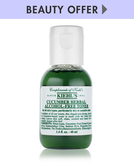 Yours with any $85 Kiehl's Purchase