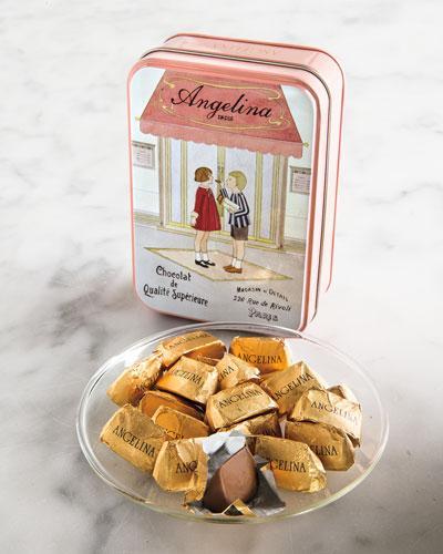 Gianduja Chocolates in Tin