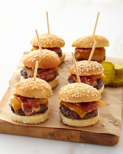 Mini Cheeseburger Bites  For 9 People