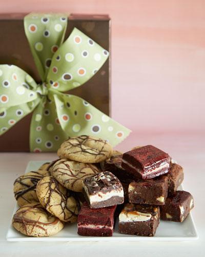 Best of Both Worlds Brownies & Cookies
