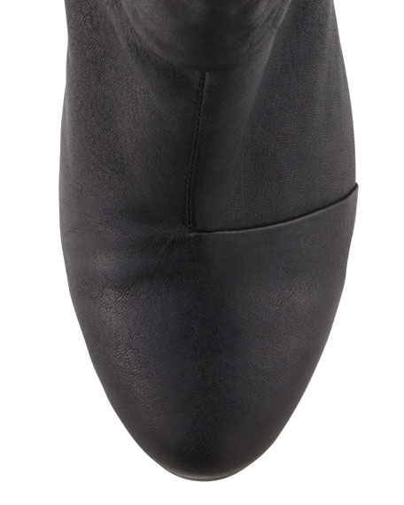 Newbury Leather Ankle Boot, Black