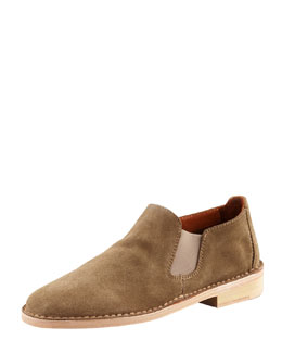 Vince Mia Flat Slip-On Bootie, Flint