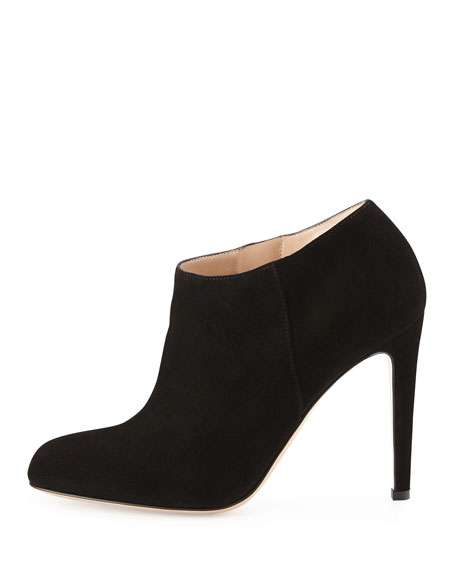 Suede Simple Bootie